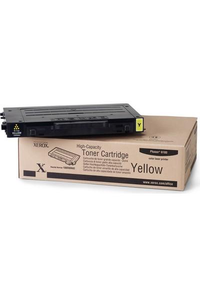 Xerox Phaser 6100 Yüksek Kapasiteli Sarı Toner