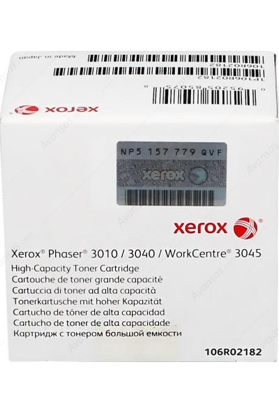 Xerox Phaser 3010/3040/Wc 3045 Siyah Toner