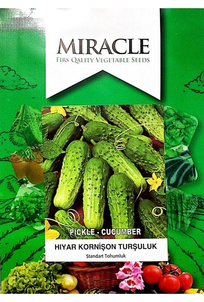 Miracle Tohum Kornişon Hıyar Tohumu (5 gram)