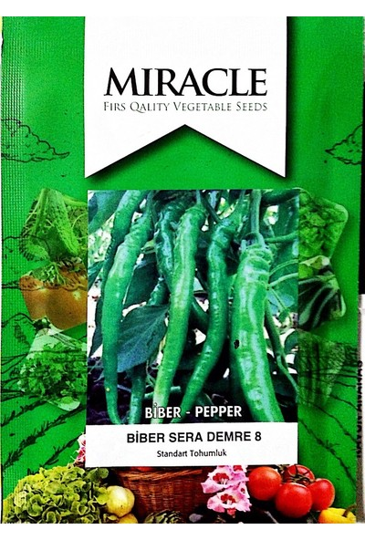 Miracle Tohum Semra Demre Biber Tohumu (10 gram)