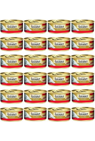 Gourmet Gold Parça Etli Ve Soslu Siğir Etli 85 Gr 24 Adet