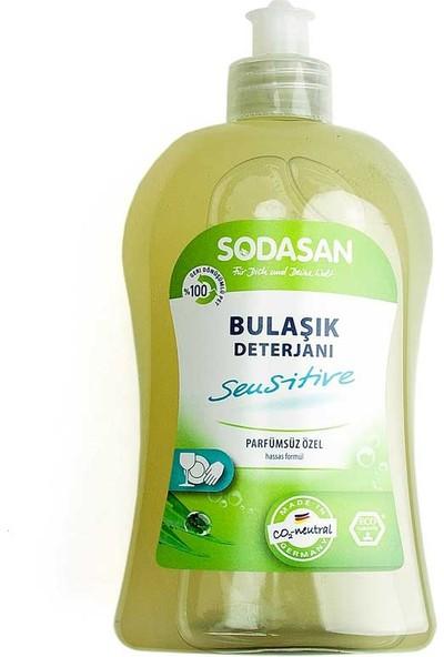 Sodasan Organik Bulaşık Yıkama Sıvısı - Hassas Ciltler için 500 Ml.