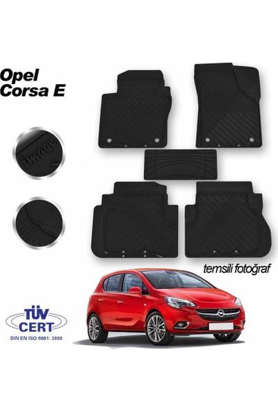 İmage Opel Corsa E Oto Paspas Seti Siyah