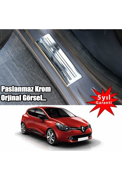 Renault Clio 4 2013->Kapı Eşiği 4 Prç
