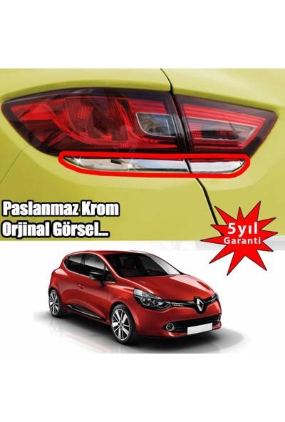 Renault Clio 4 2013->Stop Alt Çıtası 4 Prç