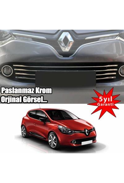 Renault Clio 4 2013->Ön Tampon Çıtası 6 Prç