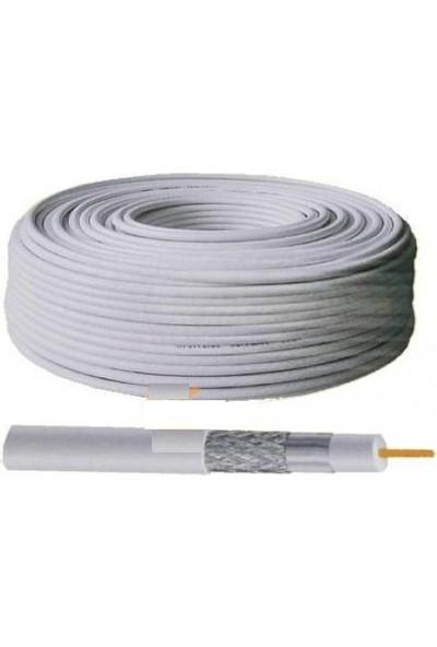 Ramtech Makarasız 100 Metre Çanak Anten Uydu Kablosu Fullhd