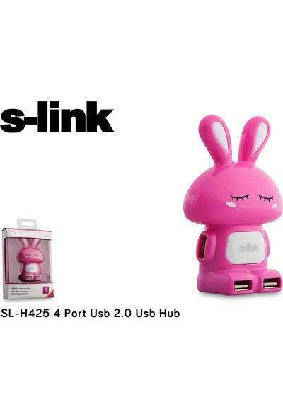 S-Link Sl-H425 4 Port Usb 2.0 Usb Hub
