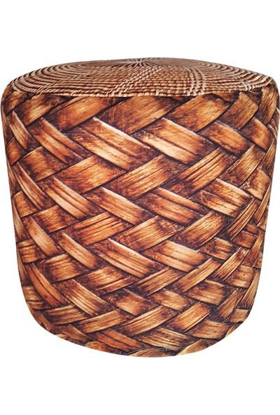 Mrs Pillow Bambu Desenli Silindir Minder