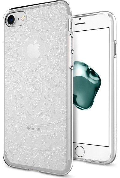 Spigen Apple iPhone SE 2020 / iPhone 8 / iPhone 7 Kılıf Liquid Crystal Shine Clear - 042CS20959