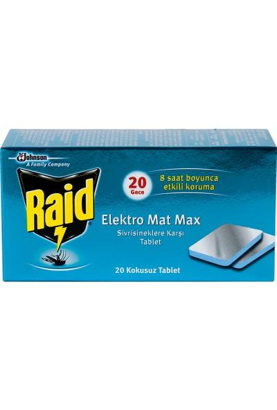 Raid Elektromat Max Tablet Sinek Kovucu