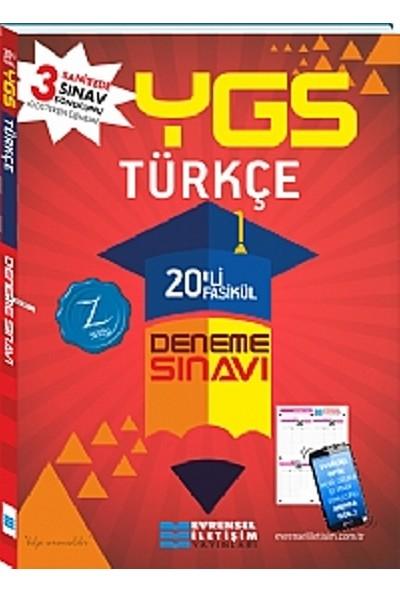 Evrensel İletişim Yayınları Ygs Türkçe 20'Li Fasikül Deneme Sınavları