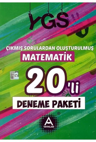 A Yayınları Ygs Çıkmış Sorulardan Oluşturulmuş Matematik 20'Li Deneme Paketi