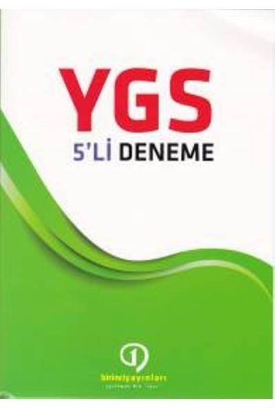 Birinci Yayınları Ygs 5Li Deneme