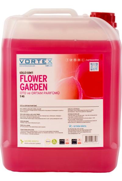 """Vortex """"Flower Garden"""" Oto ve Ortam Parfümü 5 KG"""