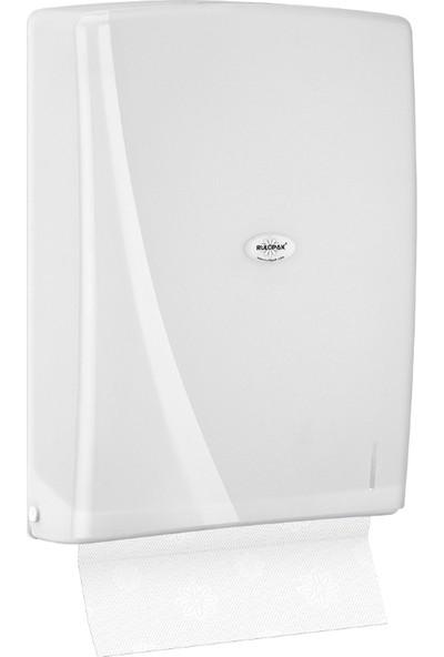 Rulopak Modern Z Katlı 400 'Lü Havlu Dispenseri Beyaz