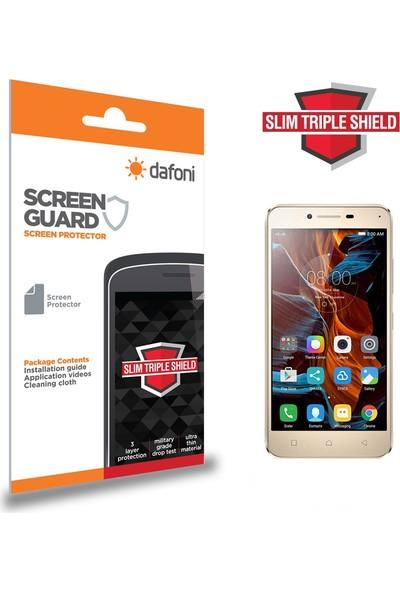 Dafoni Lenovo Vibe K5 Slim Triple Shield Ekran Koruyucu