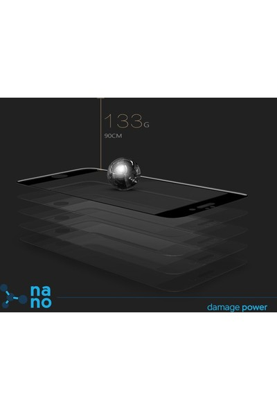 Dafoni Huawei GR3 Nano Glass Premium Cam Ekran Koruyucu