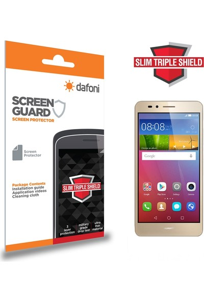 Dafoni Huawei GR5 Slim Triple Shield Ekran Koruyucu