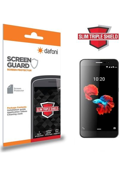 Dafoni ZTE Blade A910 Slim Triple Shield Ekran Koruyucu