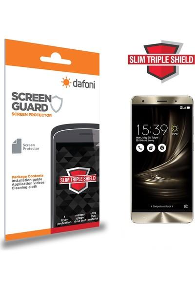 Dafoni Asus ZenFone 3 ZE552KL Slim Triple Shield Ekran Koruyucu