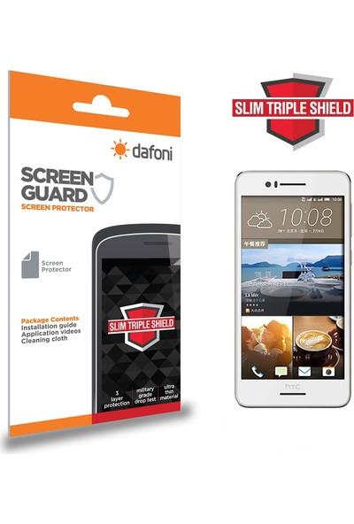 Dafoni HTC Desire 728G Slim Triple Shield Ekran Koruyucu