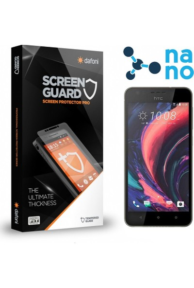 Dafoni HTC Desire 10 Pro Nano Glass Premium Cam Ekran Koruyucu