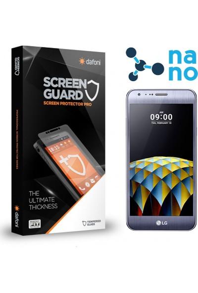 Dafoni LG X cam Nano Glass Premium Cam Ekran Koruyucu