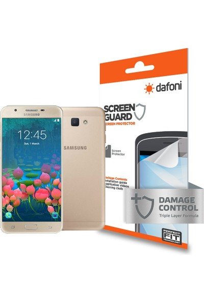 Dafoni Samsung Galaxy J5 Prime Ön + Arka Darbe Emici Full Ekran Koruyucu Film