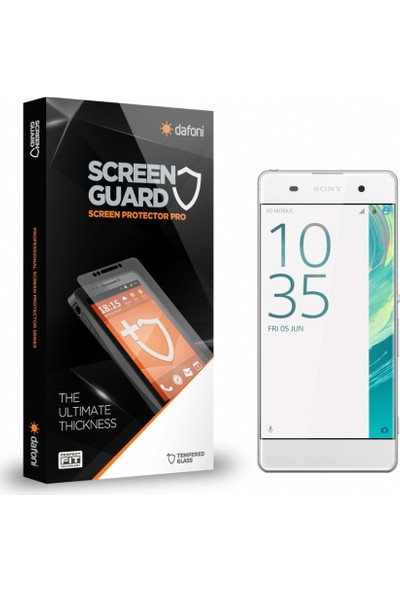 Dafoni Sony Xperia XA Tempered Glass Premium Cam Ekran Koruyucu