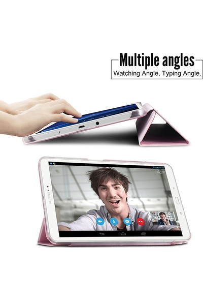 Eiroo Samsung Galaxy Tab A 2016 T580 Slim Cover Kılıf
