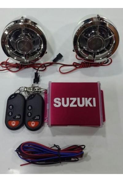 Motospartan Müzik Sistemi -Mp3 Çalar -Alarm -Usb Okuyucu -Radyo Rmg Mt138-Fd