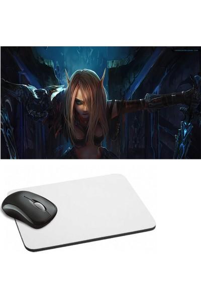 Fotografyabaskı World of Warcraft Baskılı Dikdörtgen Mouse Pad