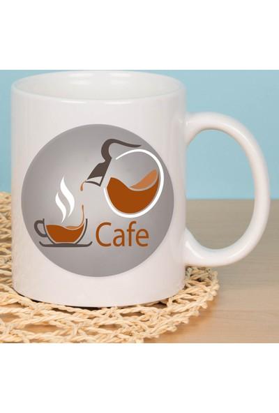 Fotografyabaskı Coffee Beyaz Beyaz Kupa Bardak Baskı