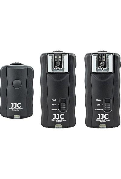 JJC JF-U2 Kablosuz Flaş-Paraflaş Tetikleyici (2 Alıcılı Set)