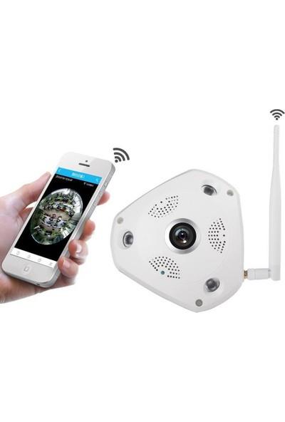 Vr Panorama Kamera 360 Derece Tavan Tipi Wifi Ip Kamera