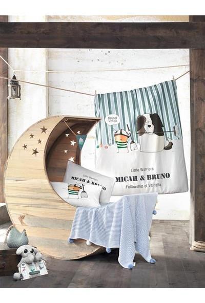 Aran Clasy Bruno-V1 Bebek Battaniyeli Nevresim Takımı