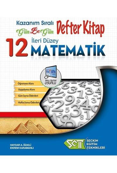 Seçkin Eğitim Teknikleri 12. Sınıf Matematik Gün Be Gün Defter Kitap