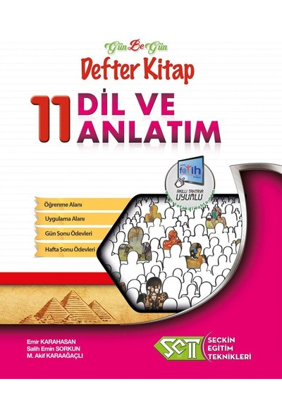 Seçkin Eğitim Teknikleri 11. Sınıf Dil Ve Anlatım Gün Be Gün Defter Kitap