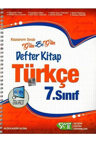 Seçkin Eğitim Teknikleri 7. Sınıf Gün Be Gün Defter Kitap Türkçe