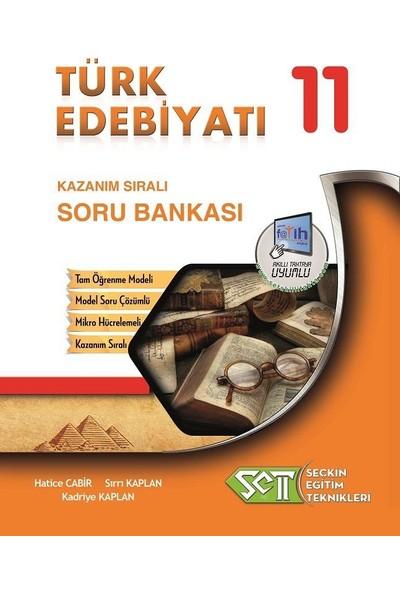 Seçkin Eğitim Teknikleri 11. Sınıf Türk Edebiyatı Kazanım Sıralı Soru Bankası