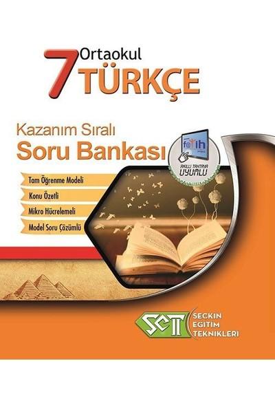 Seçkin Eğitim Teknikleri 7. Sınıf Türkçe Kazanım Sıralı Soru Bankası