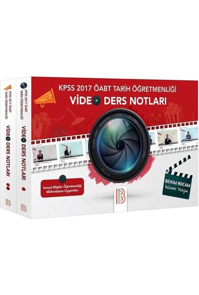 Benim Hocam Yayınları 2017 KPSS ÖABT Tarih Öğretmenliği Video Ders Notları