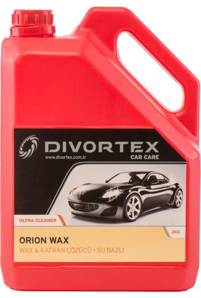 Divortex Car Care Wax Ve Katran Çözücü Su Bazlı 3 Kg