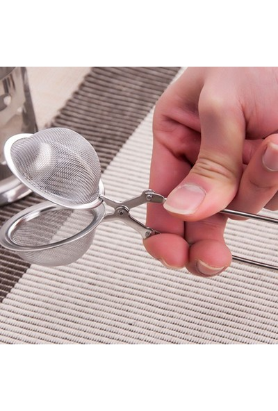 Cooker Paslanmaz Çelik Bitki Çayı Demleme Süzgeci
