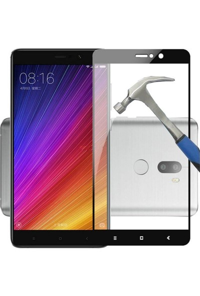Teleplus Xiaomi Mi5 S Plus Full Kapatan Cam Ekran Koruyucu Cam Ekran Koruyucu