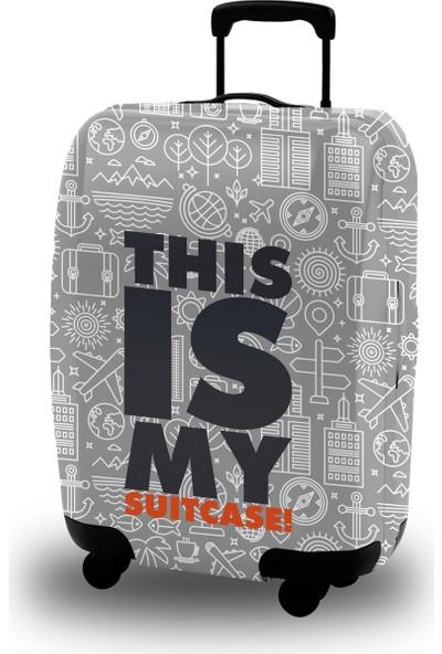 Mybag Akıllı Valiz Kılıfı Typo