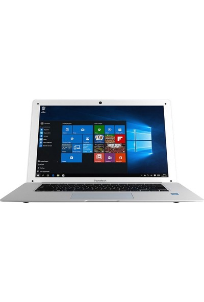 "Hometech HT BOOK 14 Intel Atom Z3735F 2GB 32GB Windows 10 Home 14"" Taşınabilir Bilgisayar Beyaz"