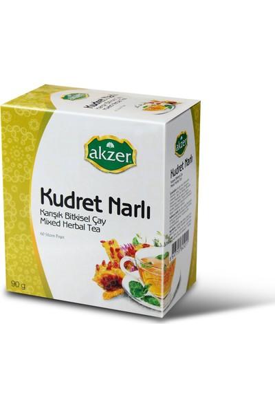 Akzer Kudret Narlı Karışık Bitkisel Çay 60 Poşet