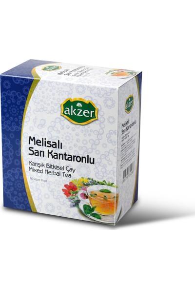 Akzer Melisalı Sarı Kantaronlu Çay 60 Poşet